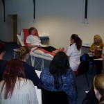 More images showing the practical workshop demos....
